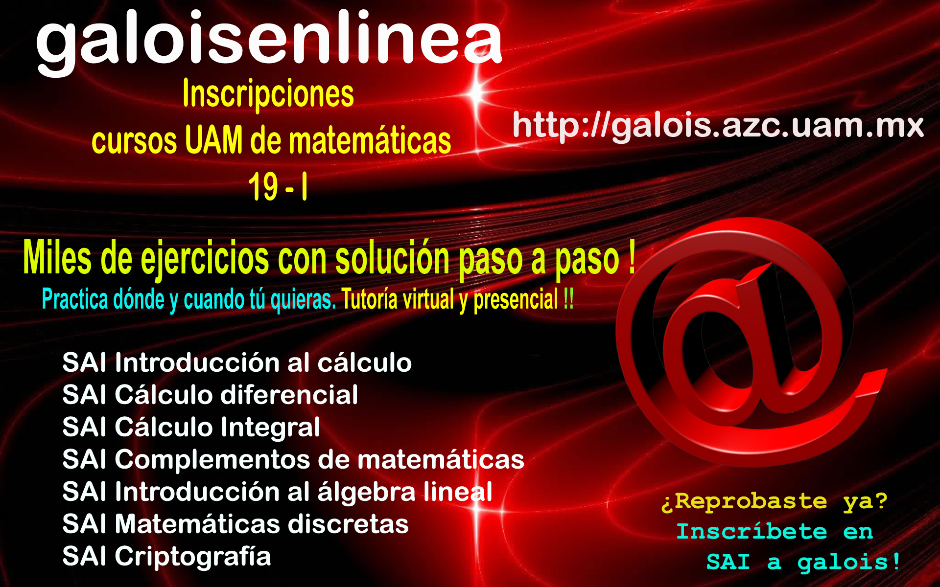 Cursos de Matemáticas